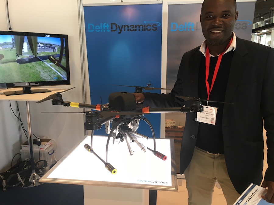 AGLON IT and Aero Data at UAVs and Robotics conference in The Hague